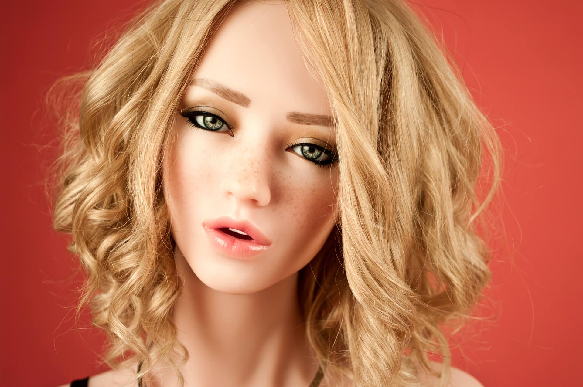 4woods Europe Silicone Dolls Marina Head A Western Beauty