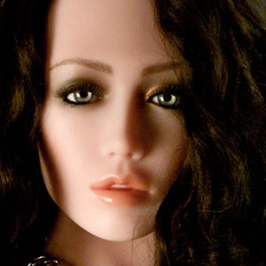 Gesicht Elina, Silikonpuppe