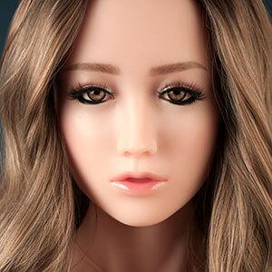 Gesicht Fay, Silikonpuppe