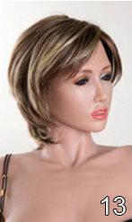 images, perruques des poupées en silicone