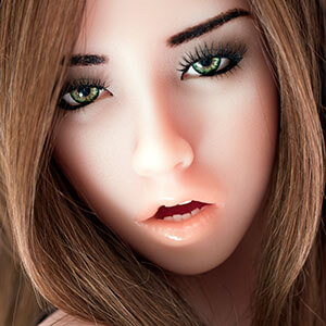 Gesicht Joanna, Silikonpuppe