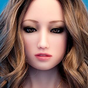 Gesicht Lilica, Silikonpuppe