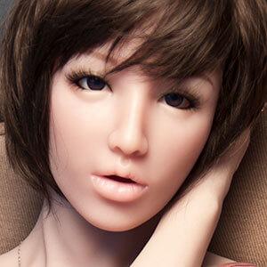 Gesicht Mitsu, Silikonpuppe