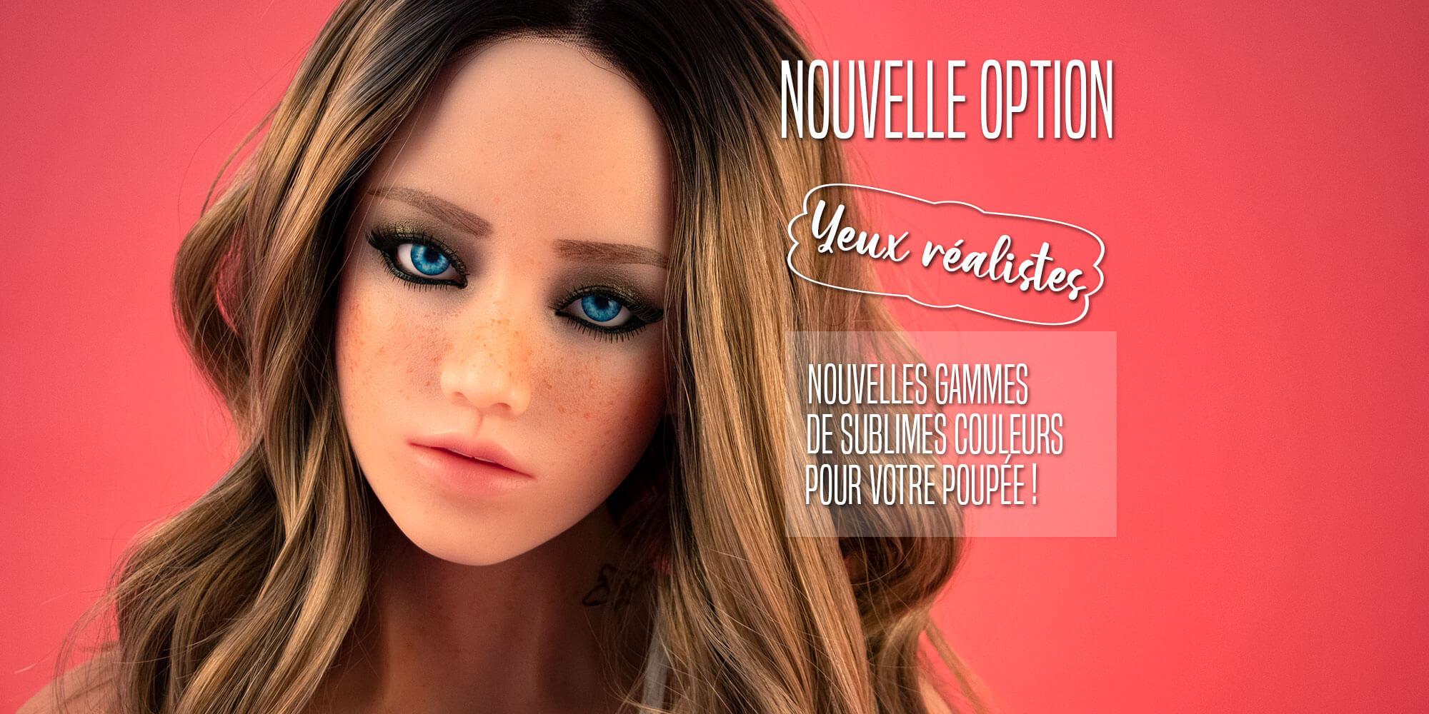 images, nouvelles couleurs d'yeux pour nos poupees non gonflables en silicone