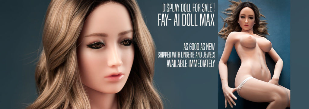 Display silicone sexdoll for sale at reduced price