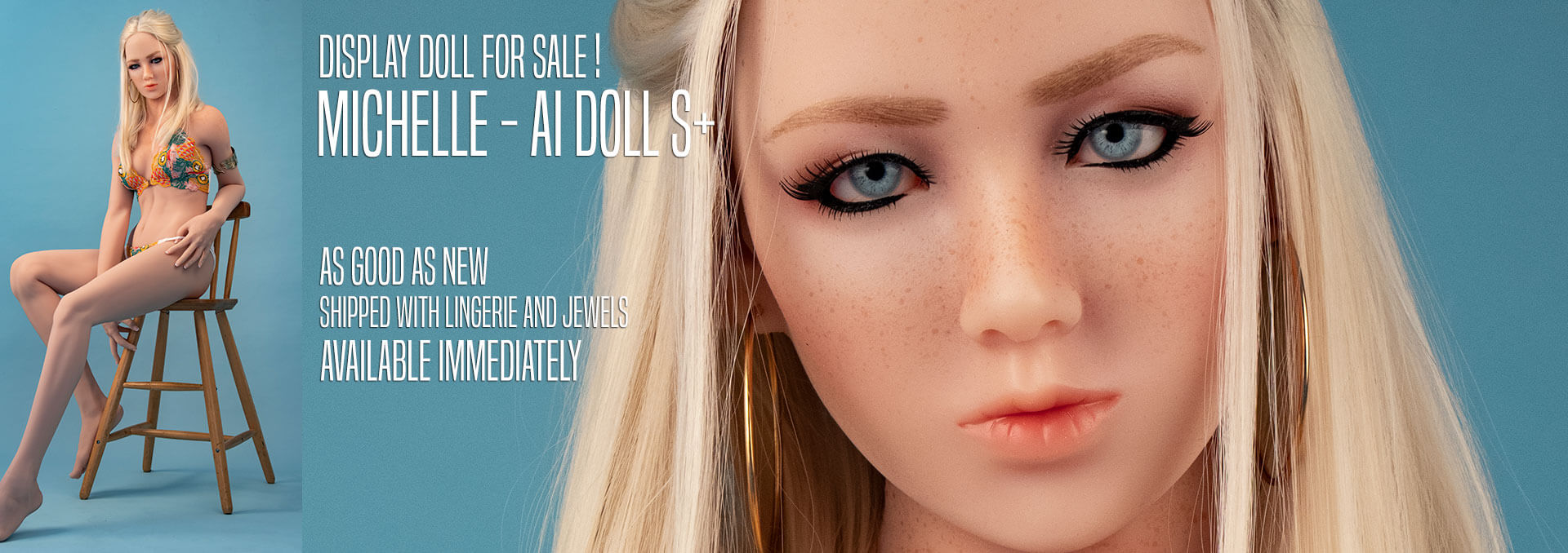 Display doll for sale