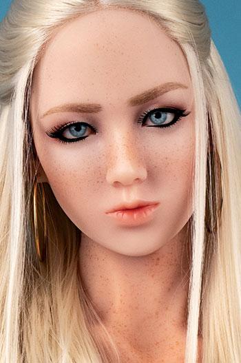 Michelle head, silicone doll
