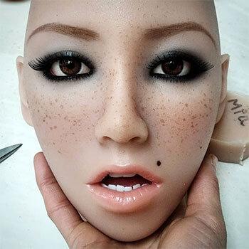 Joanna head, silicone doll