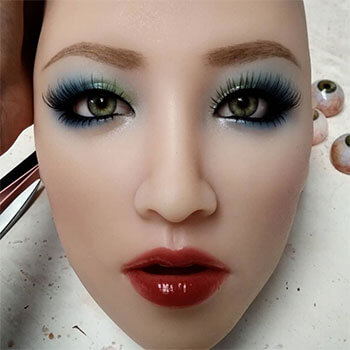 Yuri head, silicone doll for sex